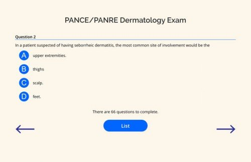Dermatology-PANCE-PANRE-Q-BANK