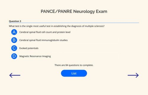 PANCE PANRE Neurology Q BANK