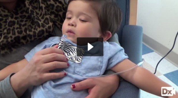 2-year-old with difficulty breathing