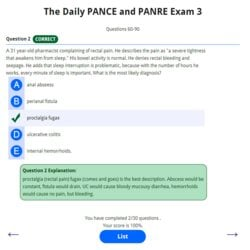 The Daily PANCE and PANRE Email Series Exam 3