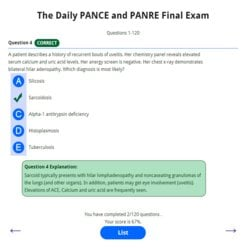 Daily-PANCE-and-PANRE-Final-Exam