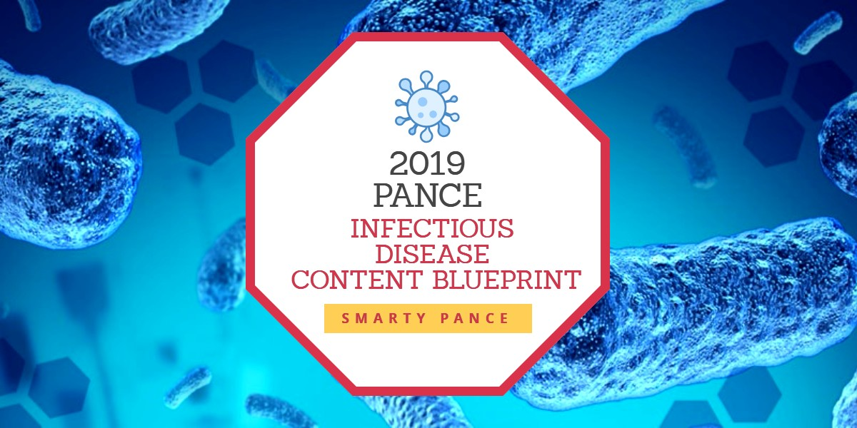 2019 SMARTY PANCE INFECTIOUS DISEASE CONTENT BLUEPRINT